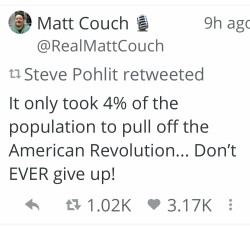 Matt Couch Tweet 19 April 2020