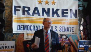 Franken Campaign Sign