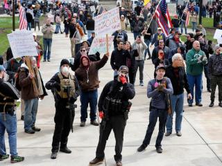 Michigan Protest April 2020