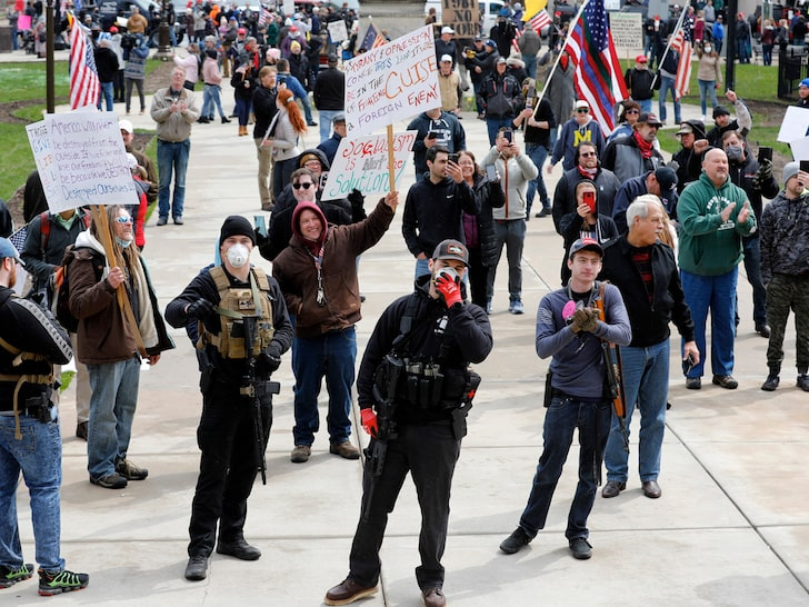 Michigan Protest April 2020