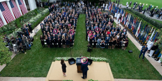 Rose Garden Event COVID 2020