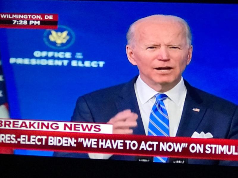 Biden January 2021 Stimulus Speech