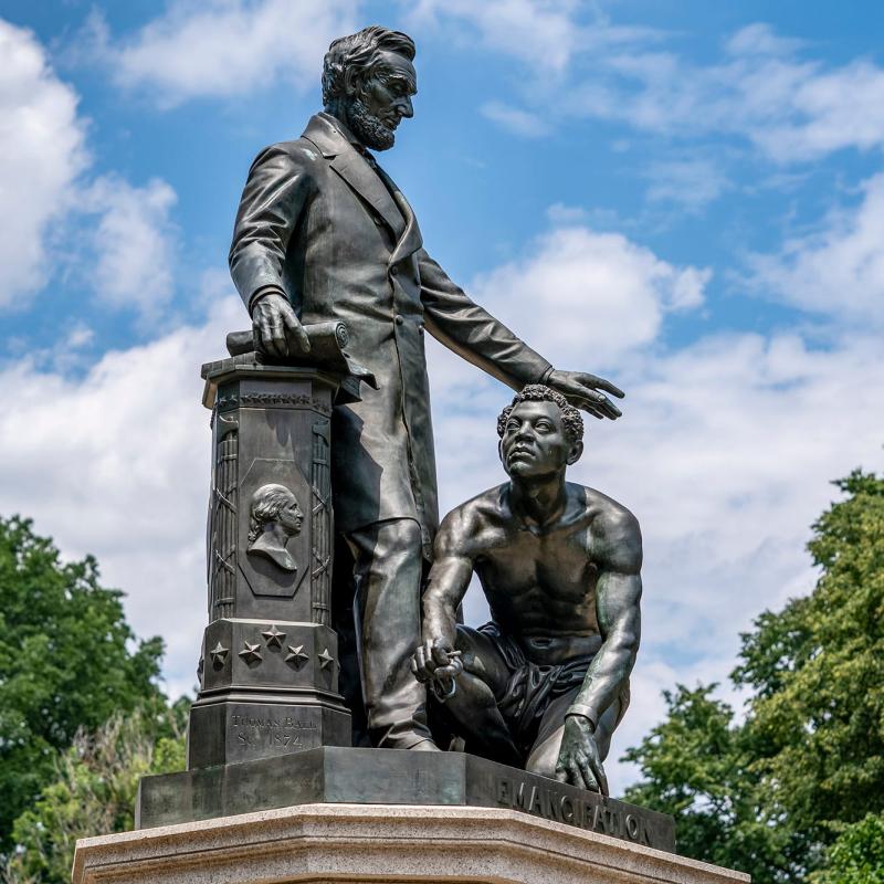 Lincoln Emancipation Image