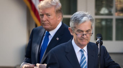 Trump Powell Image CNBC