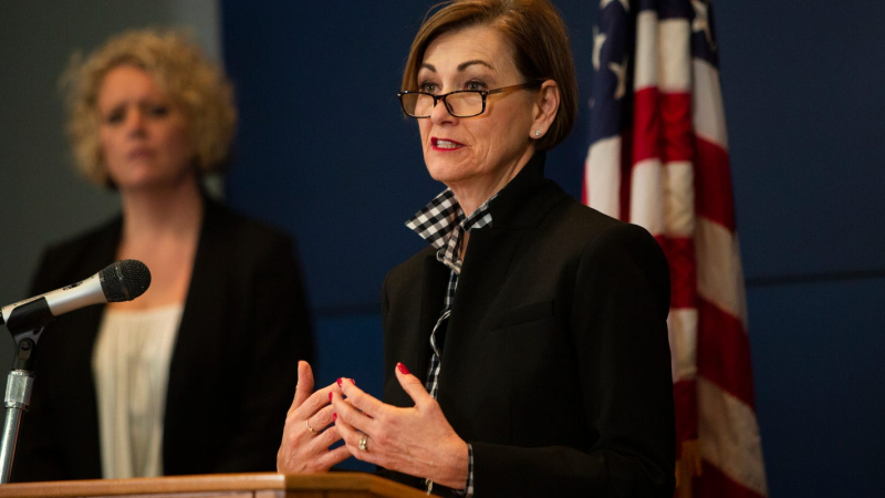 Kim Reynolds Press May 2020