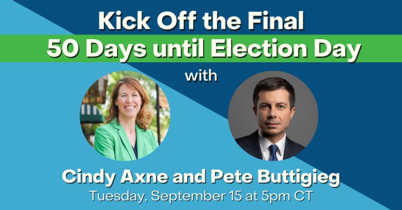 Axne Mayor Pete Sept 2020