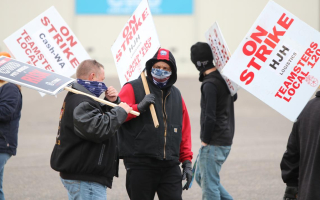 Teamsters Strike November 2020