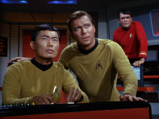 Warp speed mr sulu