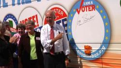 Joe Biden Nuns Bus Sept 2014