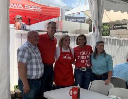 Kim Reynolds August 2021 State Fair Iowa Capital Dispatch