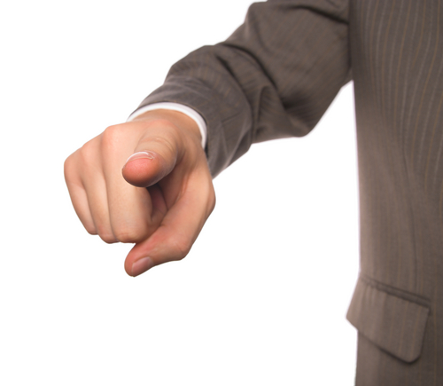 Man Finger YOU