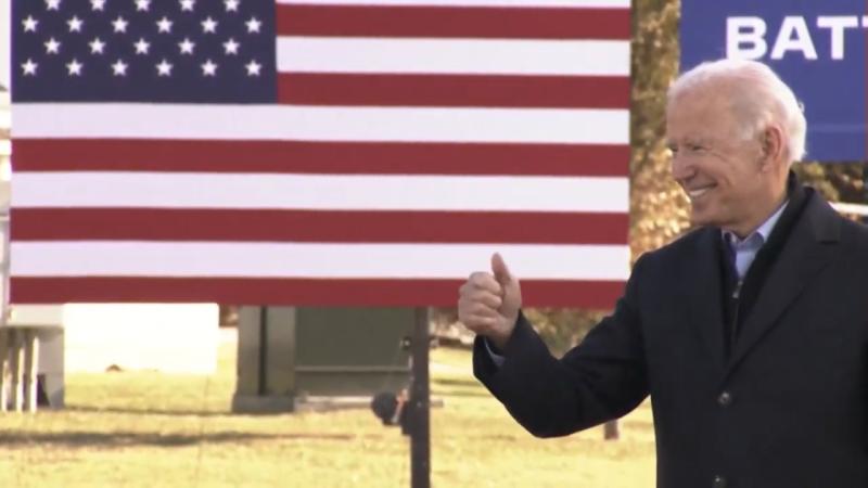 Joe Biden October 2020 DSM