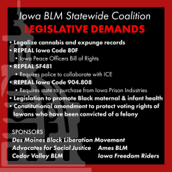 BLM Legislative Demands January 2021