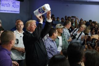 Trump Paper Towels CNN