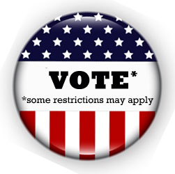 Vote Some Restrictions May Apply