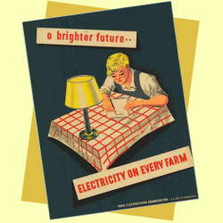 Rural Electrification Act Poster