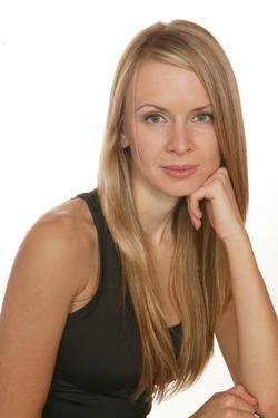 Blonde_black_dress