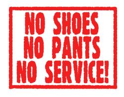 No_pants_no_service