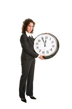 Woman_clock